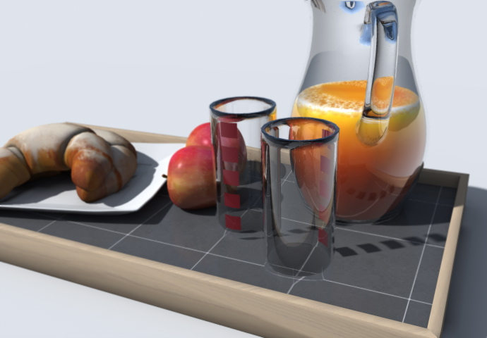 2-breakfast-set-3d-objet-model-hipoly-apple-petit-dejeuner-plateau-artlantis-aof-croissant